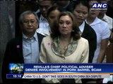 Bong's chief political adviser denies involvement in pork scam