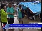 Heavy rains trigger floods in Zamboanga City