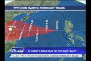 Santi batters Central Luzon, leaves 13 dead