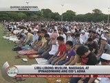Filipino Muslims celebrate Eid'l Adha