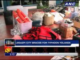 Bicol on red alert as 'Yolanda' nears PH