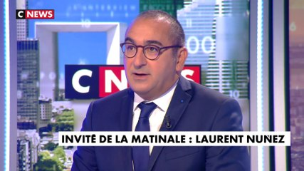 Laurent Nuñez - CNews lundi 2 septembre 2019