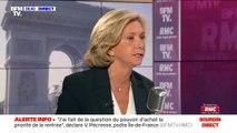 """Valérie Pécresse: """"Il faut construire une droite moderne"""" pour être """"une alternative à Emmanuel Macron"""""""