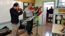 Rentrée en musique à l'école de Plantieres à Metz