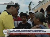 Roxas: Lack of trucks delays relief operations