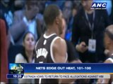 Nets edge out Heat