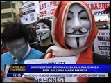 'Guy Fawkes' protesters want pork barrel abolished