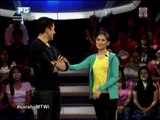 Luis teases Sarah G on 'Minute To Win It'