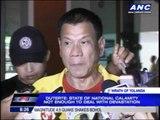 Duterte orders security to shoot looters