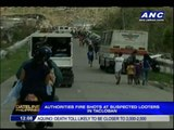 Shots fired at suspected looters in Tacloban