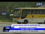 'Zoraida' brings rains to Agusan del Sur