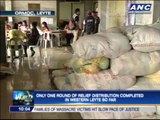 Hunger continues to stalk Leyte survivors