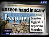 Enrile maintains innocence in 'pork' scam
