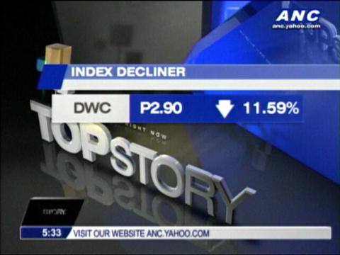 PSEi dragged by concerns over 'Yolanda' damage
