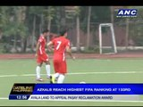 Azkals reach highest FIFA ranking