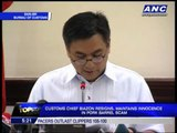 Biazon resigns, maintains innocence in PDAF scam