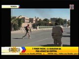 Pinoys in Yemen cautioned; help vowed for attack victims