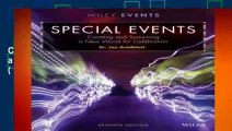 [Read] Special Events: Creating and Sustaining a New World for Celebration (The Wiley Event