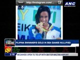 Filipina swimmer's gold in SEAG nullified