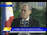 Sea row, disaster loan on PNoy agenda for Tokyo trip