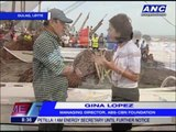 ABS-CBN Foundation helps Leyte residents build boats