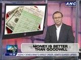 Teditorial: Money is better than goodwill