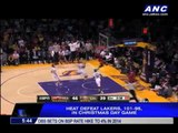 Heat defeat Lakers in Christmas Day game