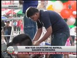 Manila holds New Year's Eve party in Divisoria