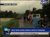 Heavy rains cause floods in parts of Mindanao
