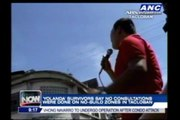 'Yolanda' survivors stage protest in Tacloban