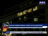 Pagcor misses revenue targe