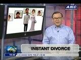 Teditorial: Instant divorce