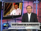 Teditorial: What cannot be surrendered