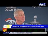 Broncos, Seahawks gear up for Super Bowl