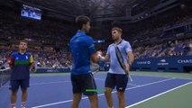 US Open - Djokovic abandonne face à Wawrinka