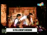 WATCH: Iya, Drew's first kiss as married couple