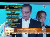 ABS-CBN wins big at 1st PUP Mabini Media Awards