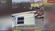 Aux Bahamas l'ouragan Dorian fait des premiers dégâts