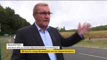 Le débat sur la limitation de vitesse à 80 km/h fait son retour