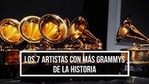 Los 7 artistas con más Grammys de la historia