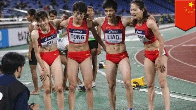 Chinese medal-winning female runners accused of being dudes