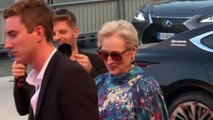 Meryl Streep and Gary Oldman walk Venice red carpet for 'Laundromat'