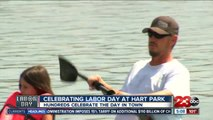 Labor Day celebration at Hart Park