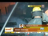 Fire razes house in Manila