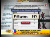 Pinoys feel most loved: global survey