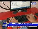 Miriam: Freedom of speech trumps cyber-libel