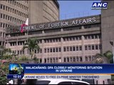 DFA closely monitoring situation in Ukraine