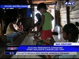 Guiuan residents rue PNoy's cancelled trip