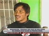 Filipino fishermen fear Chinese ships in disputed sea