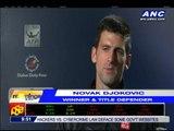 Djokovic through to 2nd round in Dubai
